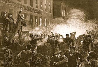 Haymarket Square Explosion
