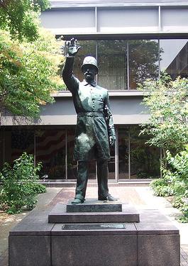 Haymarket Statue at Jackson Street Police Academy - 2006