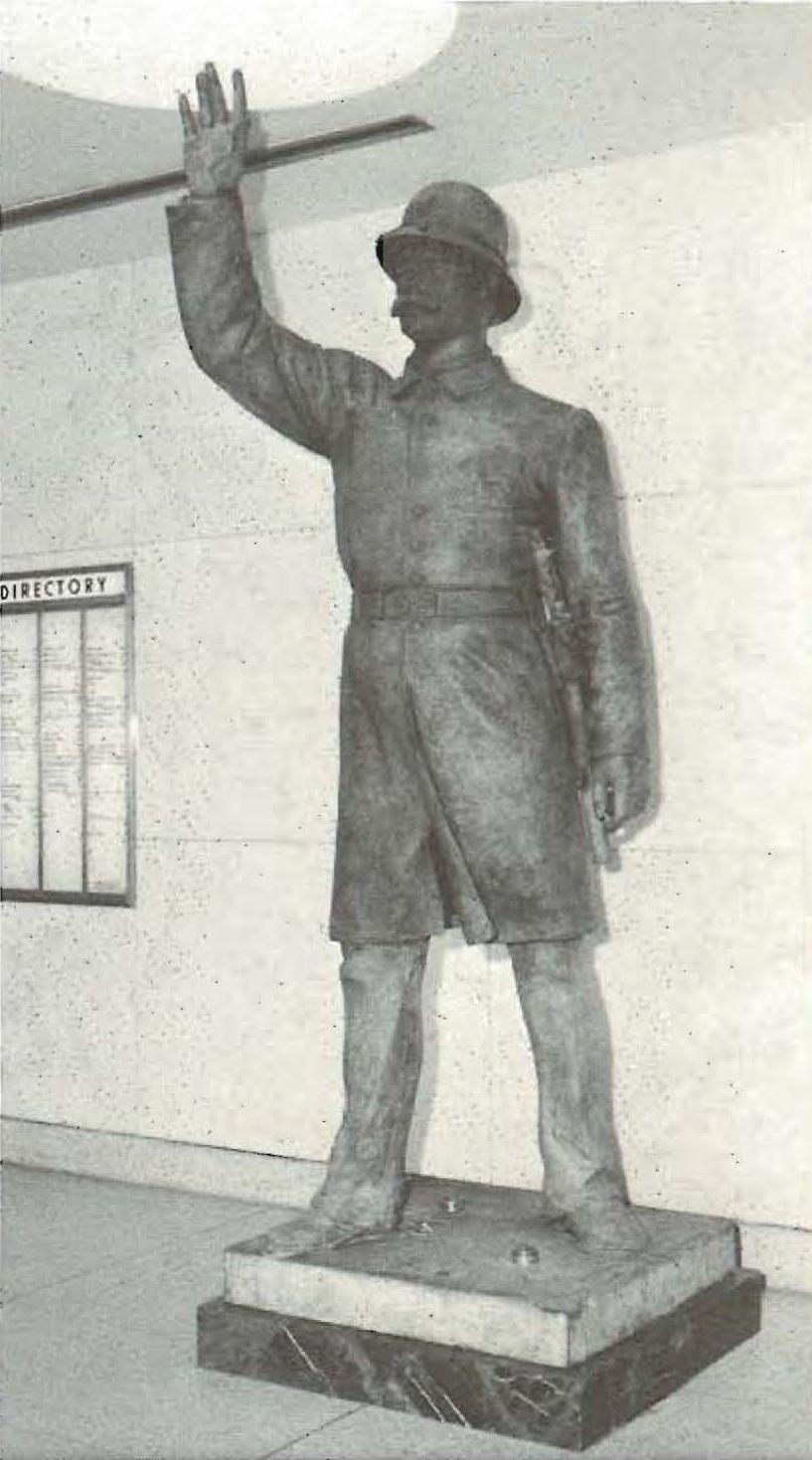 Haymarket Statue at State Street Police Headquarters - 1972