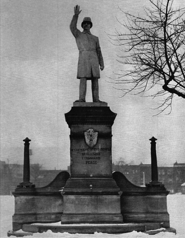 Haymarket Statue at Union Park - 1950
