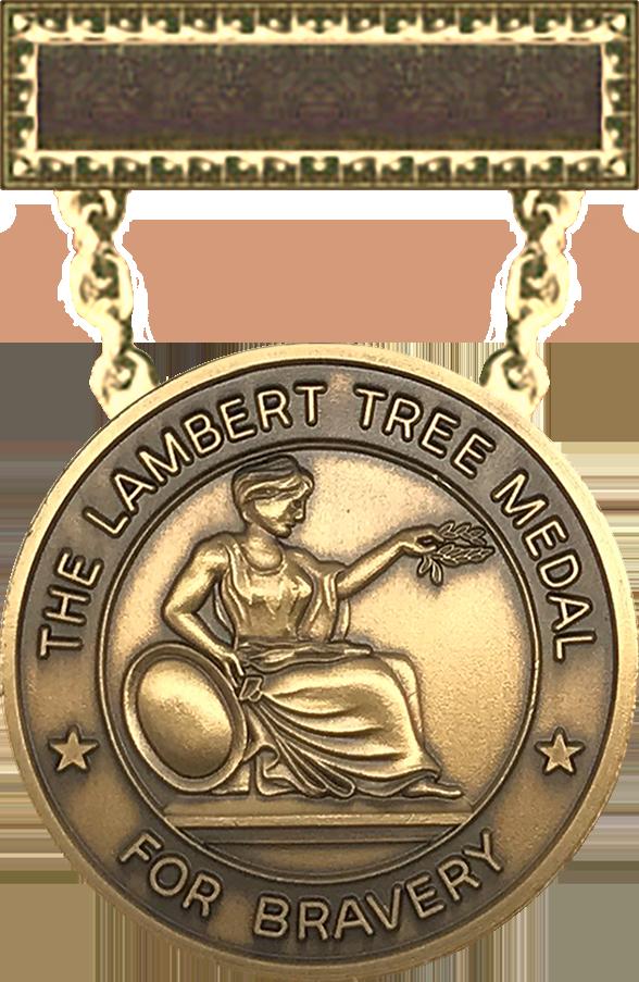 Lambert Tree Medal - 1889 Series Obverse