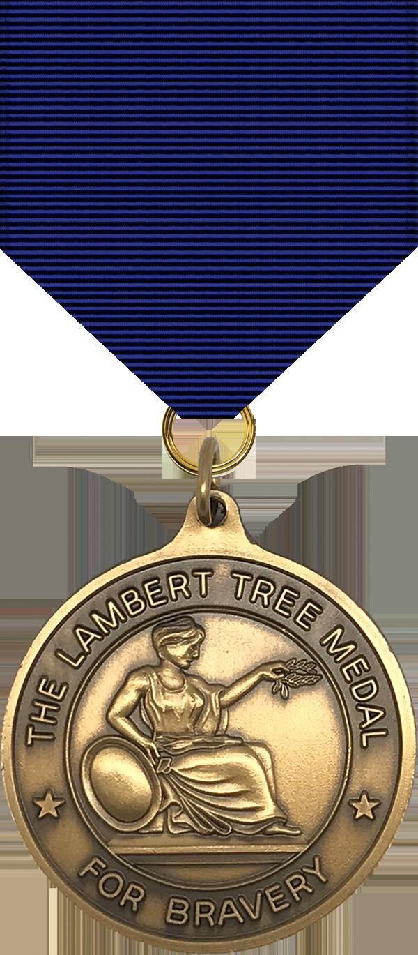 Lambert Tree Medal - 1969 Series Obverse