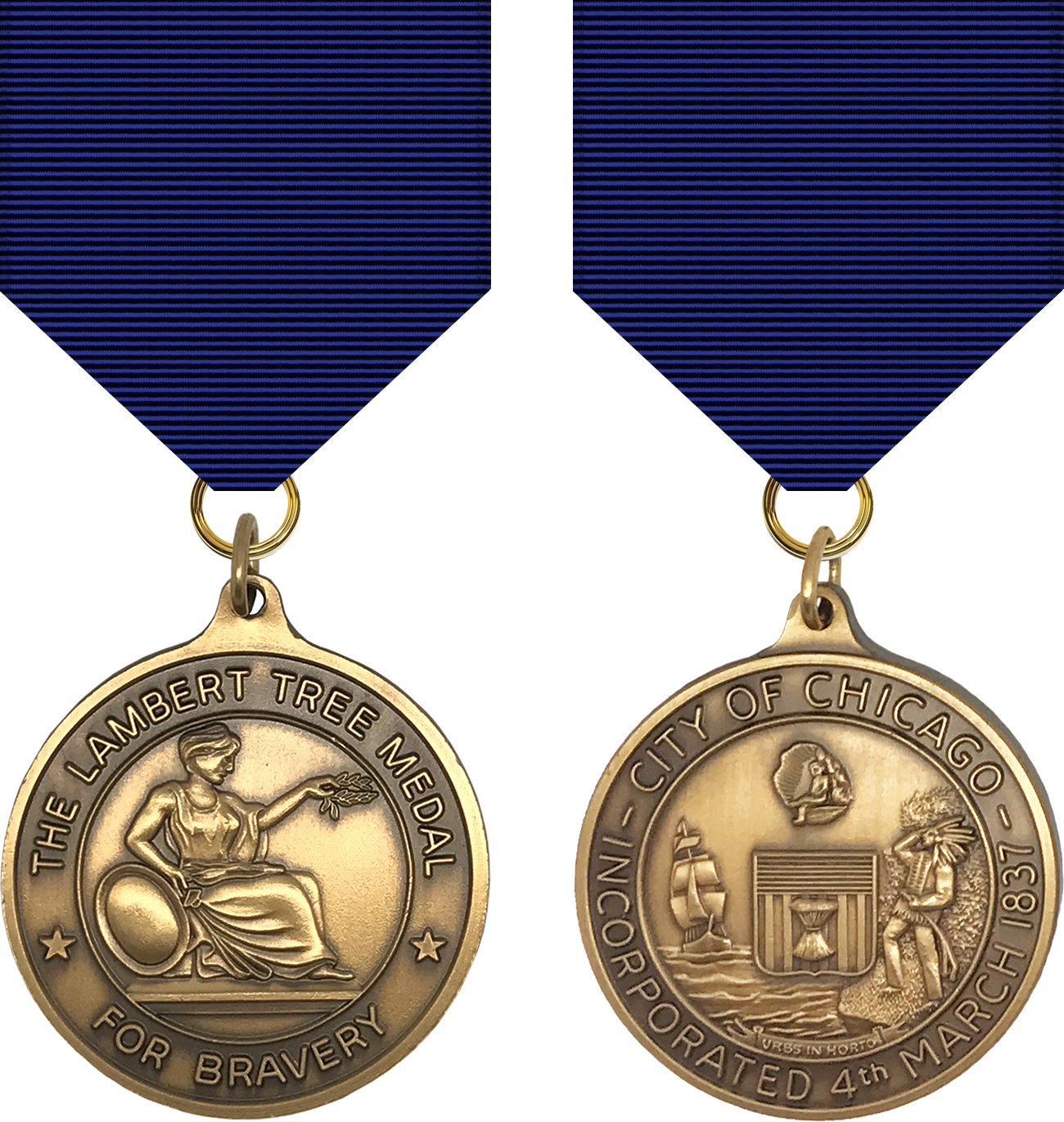 Lambert Tree Medal - 1969 Series