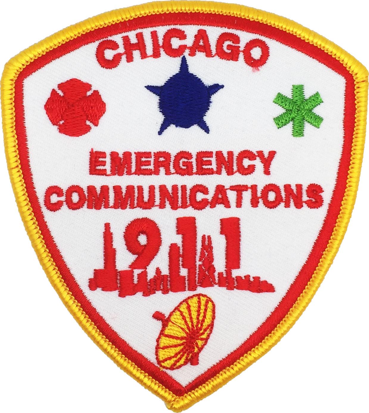 OEMC Dispatcher Shoulder Patch - Fire