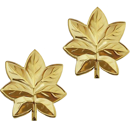 Oak Leaf - Gold Tone