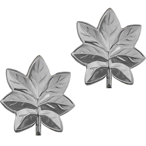 Oak Leaf - Silver Tone