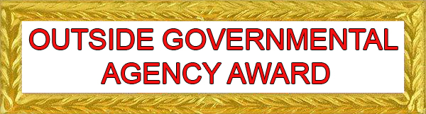 Outside Governmental Agency Award Ribbon