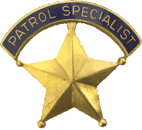 Patrol Specialist Badge