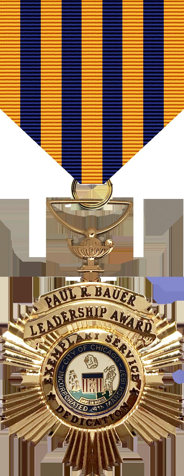 William Powers Leadership Award Medal