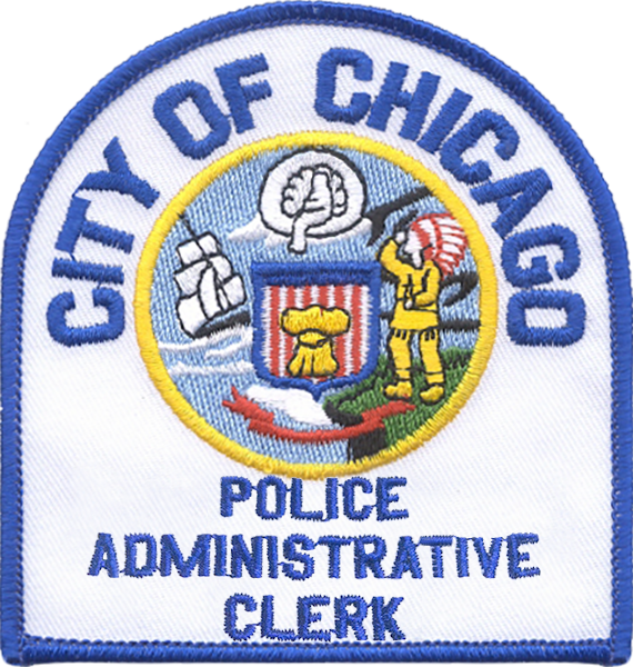 Police Administrative Clerk Shoulder Patch