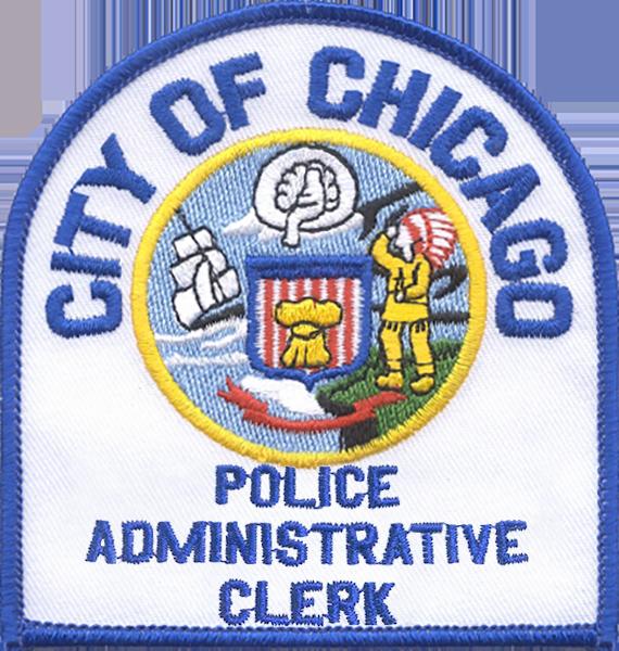 Police Administrative Clerk Shoulder Patch