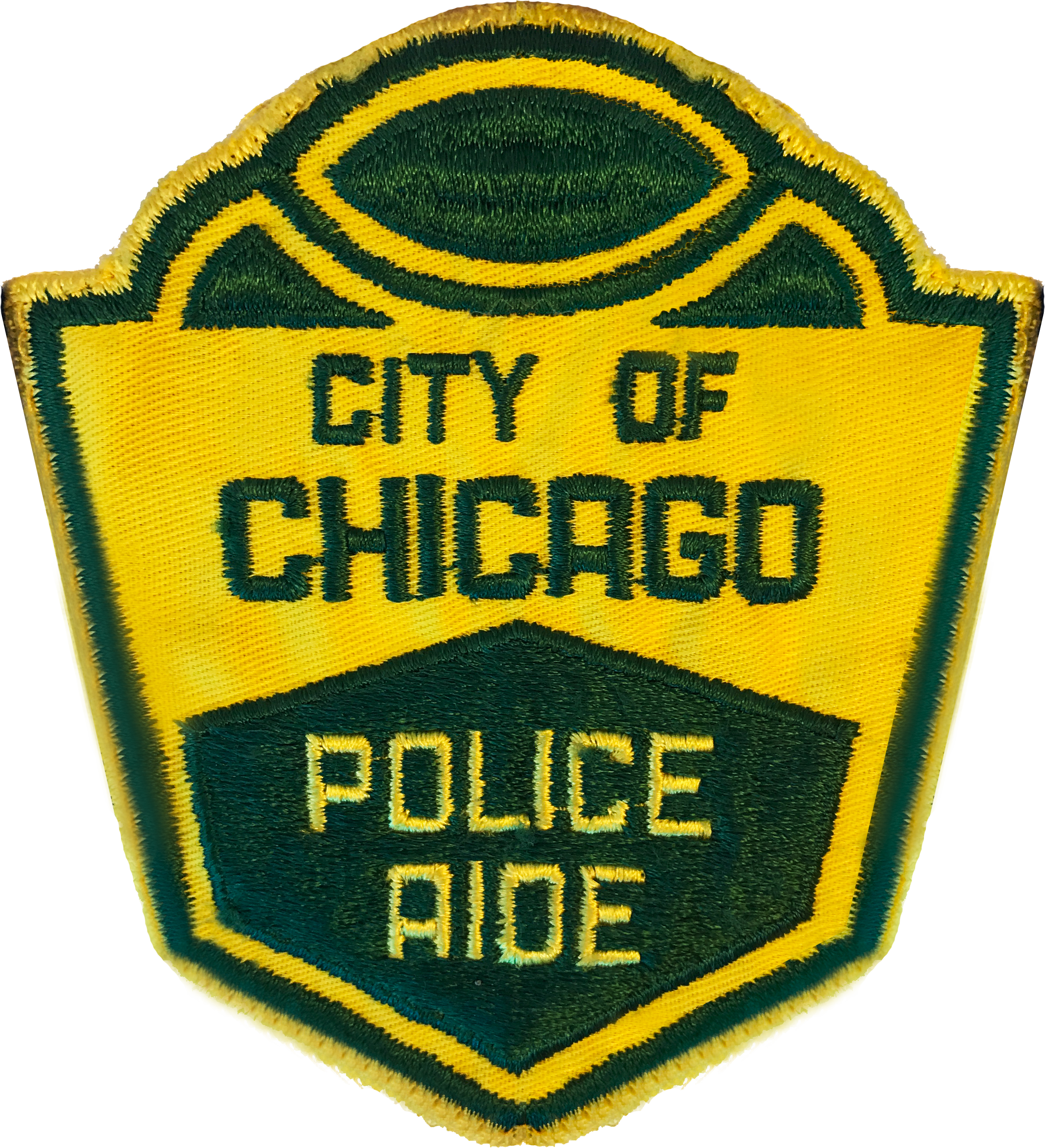 Police Aide Shoulder Patch - 1960's Series