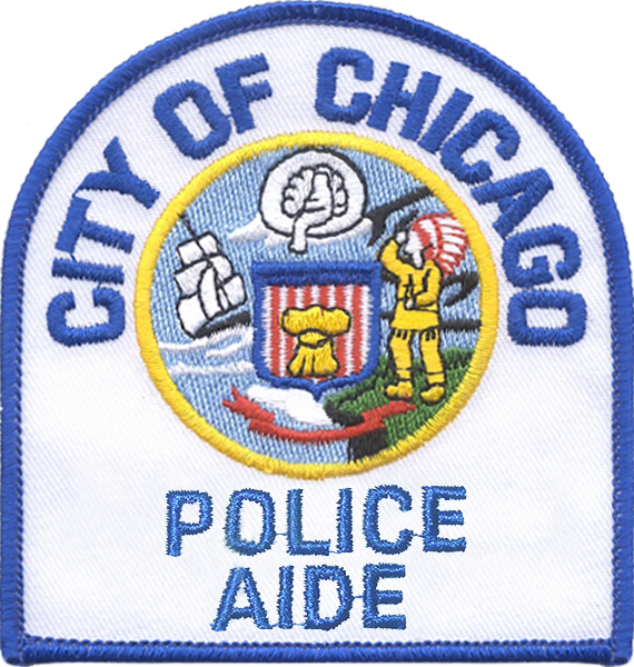 Police Aide Shoulder Patch - 1996 Series