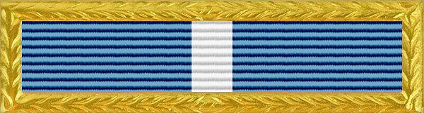 Police Blue Shield Award Ribbon