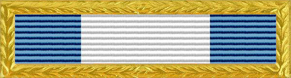 Police Blue Star Award Ribbon