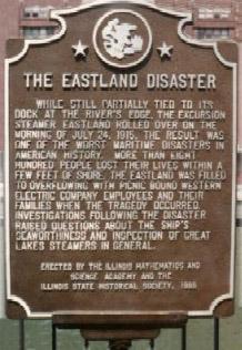 S.S. Eastland Memorial Plaque - Original
