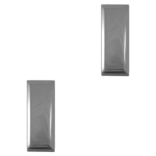 Single Bar - Silver Tone