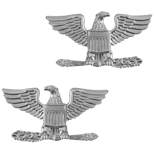 Spread Eagle - Silver Tone