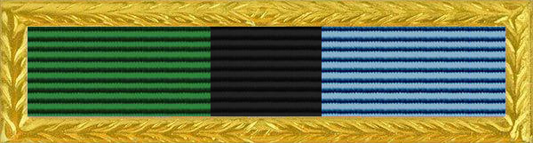 Thomas E. Wortham Military and Community Service Award Ribbon