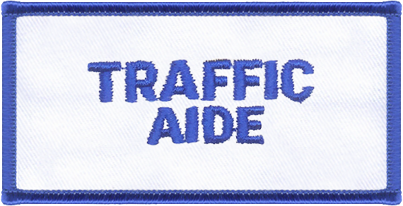 Traffic Aide Designator Patch