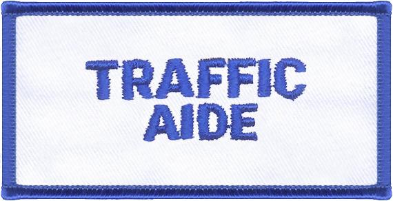 Traffic Aide Designator Patch