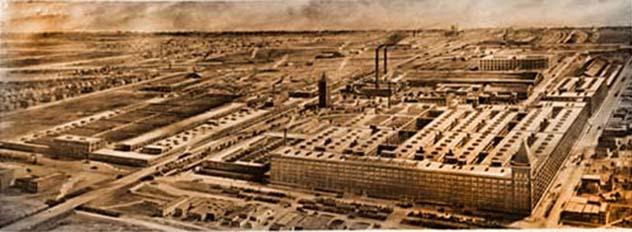 Western Electric - Hawthorne Factory Black & White