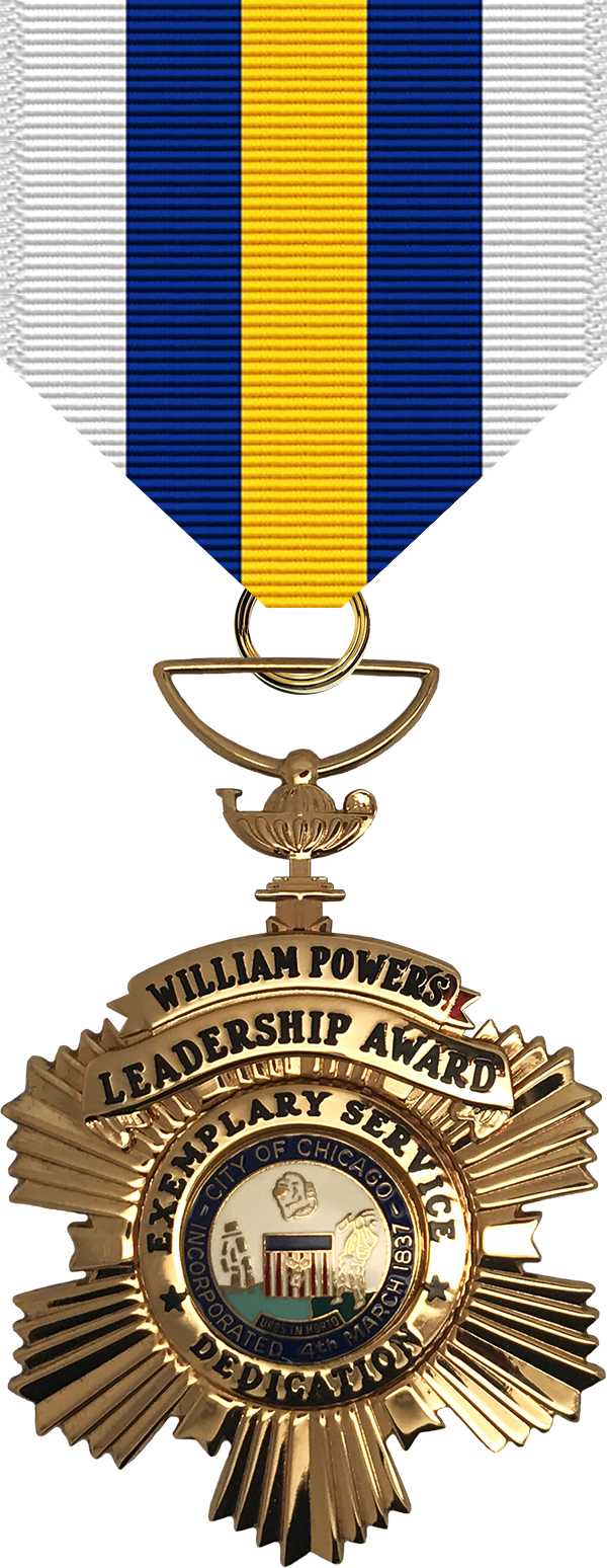 William Powers Leadership Award Medal